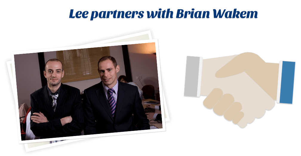 Lee partners with Brian Wakem